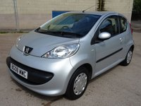USED 2008 08 PEUGEOT 107 1.0 URBAN 3d 68 BHP FULL YEAR MOT +  £20 ROAD TAX +  VERY LOW INSURANCE GROUP +