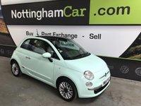 2014 FIAT 500 1.2 LOUNGE 3d 69 BHP £5695.00