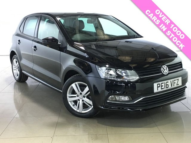 View our 2016 16 VOLKSWAGEN POLO 1.0 MATCH 5d 74 BHP