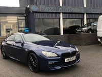 USED 2015 15 BMW 6 SERIES 3.0 640D M SPORT GRAN COUPE 4d AUTO 309 BHP