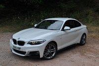 2015 BMW 2 SERIES 2.0 220D M SPORT 2d 188 BHP £16995.00