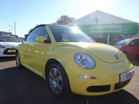 USED 2008 08 VOLKSWAGEN BEETLE 1.6 LUNA 8V 2d 101 BHP 1  LADY OWNER FROM NEW....£0 DEPOSIT FINANCE AVAILABLE