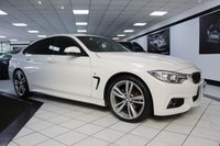 2016 BMW 4 SERIES GRAN COUPE 420D M SPORT GRAN COUPE AUTO 190 BHP £19975.00