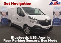 USED 2015 65 RENAULT TRAFIC 1.6 SL29 BUSINESS DCI 115 BHP with Sat Nav, Bluetooth Connectivity, Aux, Ply Lined, 6 Speed Gear Box, 4.9 % Flat Rate Finance Available **Drive Away Today** Over The Phone Low Rate Finance Available, Just Call us on 01709 866668