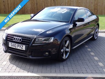 2010 AUDI A5 2.0 TDI S LINE SPECIAL EDITION 2d 168 BHP £11495.00