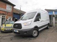 2014 FORD TRANSIT 2.2 350 H/R P/V 1d 124 BHP £9000.00