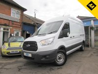USED 2014 64 FORD TRANSIT 2.2 350 H/R P/V 1d 124 BHP