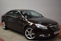 USED 2011 VAUXHALL INSIGNIA 1.8 SRI 4 Door Saloon ONE LADY OWNER+ FULL HISTORY