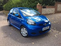 2009 TOYOTA AYGO 1.0 BLUE VVT-I 3d 67 BHP PLEASE CALL TO VIEW £SOLD
