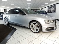2015 AUDI A4 2.0 TDI BLACK EDITION PLUS MULTITRONIC 177 BHP £15925.00