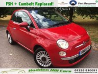 USED 2011 61 FIAT 500 1.2 LOUNGE 3d 69 BHP Full Service History + Cambelt