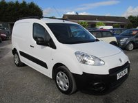 USED 2013 13 PEUGEOT PARTNER 1.6 HDI S L1 SIDE DOOR  NO VAT SIDE DOOR FACTORY BULKHEAD
