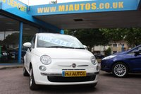 2014 FIAT 500 1.2 LOUNGE 3dr 69 BHP £5295.00