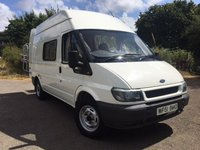 2001 FORD TRANSIT 2.4 350M 1d 90 BHP AUTOSLEEPER DUETTO MOTOR HOME PLEASE CALL TO VIEW £12950.00