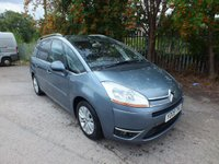 2009 CITROEN C4 GRAND PICASSO 1.6 EXCLUSIVE HDI EGS 5d AUTO 107 BHP £4295.00