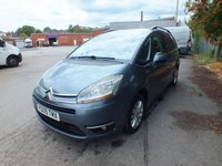 USED 2009 09 CITROEN C4 GRAND PICASSO 1.6 EXCLUSIVE HDI EGS 5d AUTO 107 BHP