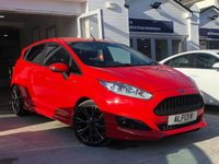 USED 2017 FORD FIESTA 1.0 ST-LINE 5d 124 BHP COMES WITH 6 MONTHS WARRANTY