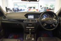 USED 2013 63 MERCEDES-BENZ C CLASS 2.1 C220 CDI BLUEEFFICIENCY EXECUTIVE SE 4d AUTO 168 BHP