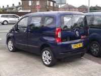 2012 FIAT QUBO 1.2 MULTIJET DRIVE FROM WHEELCHAIR SWITCH AUTO £8995.00