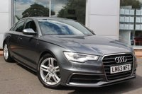 USED 2013 63 AUDI A6 2.0 TDI S LINE 4d 175 BHP ***LOW MILEAGE EXAMPLE***