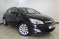 USED 2011 61 VAUXHALL ASTRA 2.0 ELITE CDTI 5DR 163 BHP FULL SERVICE HISTORY + HEATED LEATHER SEATS + CRUISE CONTROL + MULTI FUNCTION WHEEL + CLIMATE CONTROL + 15 INCH ALLOY WHEELS