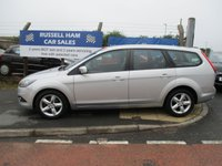 USED 2008 58 FORD FOCUS 1.6 ZETEC 5d 100 BHP