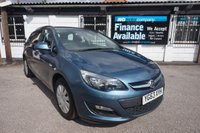 USED 2013 63 VAUXHALL ASTRA 1.4 EXCLUSIV 5d 100 BHP HISTORY-F+R PARK AID-CRUISE Service History, 2 Owners, Air Con, F & R Parking Aid