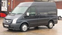 2011 FORD TRANSIT 2.2 280 SAPPHIRE SHR 1d 114 BHP NO VAT TO ADD / 2 OWNERS F/S/H 2 KEYS / AIR CON / 12 MONTHS WARRANTY COVER / £7490.00