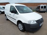 USED 2010 10 VOLKSWAGEN CADDY 2.0 C20 SDI 1d 68 BHP