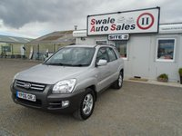 USED 2006 06 KIA SPORTAGE 2.0 XE CRDI 139 BHP £17 PER WEEK, NO DEPOSIT - SEE FINANCE LINK
