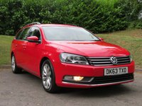 USED 2013 63 VOLKSWAGEN PASSAT 2.0 HIGHLINE TDI BLUEMOTION TECHNOLOGY 5d 139 BHP FROM £36 A WEEK WITH NO DEPOSIT