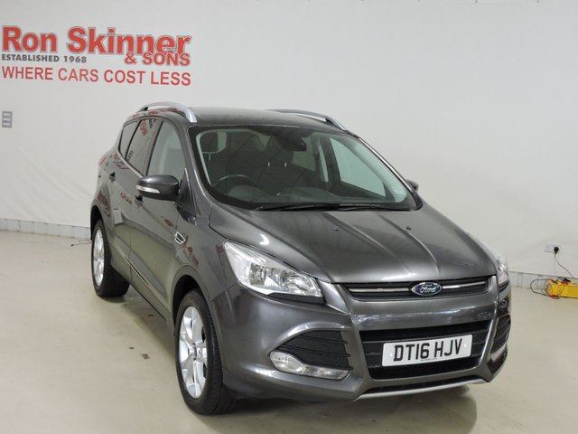 View our 2016 16 FORD KUGA 2.0 ZETEC TDCI 5d 148 BHP with Appearance Pack + 18in Alloys + Nav