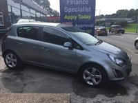 2013 VAUXHALL CORSA 1.2 SXI AC 5d 83 BHP, Only 38000 miles, 2 owners £5495.00