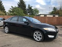 2008 FORD MONDEO 2.0 TDCi TITANIUM  5d  WITH UPGRADED ALLOYS AND REAR BOOT SPOILER £4250.00