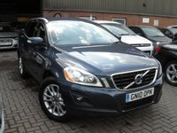 USED 2010 10 VOLVO XC60 2.4 D5 SE LUX AWD 5d AUTO 205 BHP ANY PART EXCHANGE WELCOME, COUNTRY WIDE DELIVERY ARRANGED, HUGE SPEC