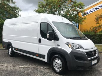 2015 FIAT DUCATO 2.3 35 MAXI XLWB HIGH ROOF MULTIJET 130 BHP VAN LOW MILEAGE FREE UK DELIVERY