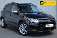 USED 2015 15 VOLKSWAGEN TIGUAN 2.0 S TDI BLUEMOTION TECHNOLOGY 5d 109 BHP PEARL PAINT + BLUETOOTH