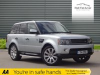 USED 2009 59 LAND ROVER RANGE ROVER SPORT 3.0 TDV6 HSE 5d AUTO 245 BHP SAT NAV, FSH,LEATHER,BLUETOOTH