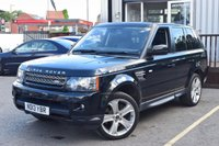 USED 2013 13 LAND ROVER RANGE ROVER SPORT 3.0 SDV6 HSE BLACK 5d AUTO 255 BHP Full Land Rover Service History