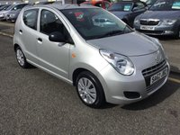 USED 2012 62 SUZUKI ALTO 1.0 SZ 5d 68 BHP OUR  PRICE INCLUDES A 6 MONTH AA WARRANTY DEALER CARE EXTENDED GUARANTEE, 1 YEARS MOT AND A OIL & FILTERS SERVICE. 6 MONTHS FREE BREAKDOWN COVER.  CALL US NOW FOR MORE INFORMATION OR TO BOOK A TEST DRIVE ON 01315387070 !!