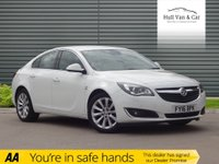 USED 2016 16 VAUXHALL INSIGNIA 1.6 ELITE NAV CDTI ECOFLEX S/S 5d 134 BHP SAT NAV, LEATHER, BLUETOOTH