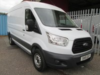 USED 2015 15 FORD TRANSIT 350 L3 H2 LWB Medium roof 125 PS *42000 MILES* FACTORY BLUETOOTH + REAR WHEEL DRIVE