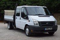 2011 FORD TRANSIT 2.4 350 E/F DRW  100 BHP £7450.00