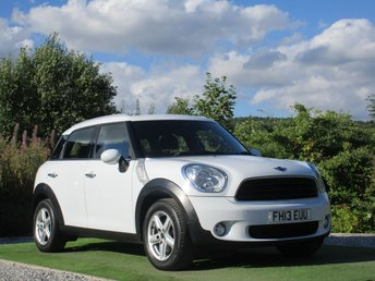 2013 MINI COUNTRYMAN 1.6 ONE 5d 98 BHP £7490.00