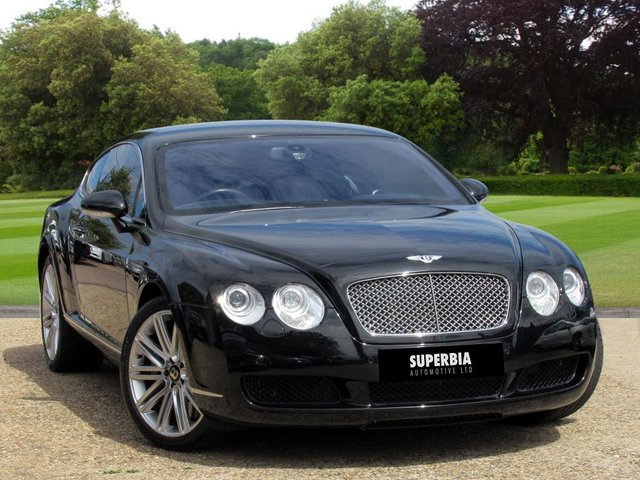 2005 05 BENTLEY CONTINENTAL 6.0 GT 2d