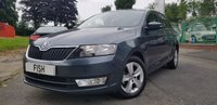 USED 2017 17 SKODA RAPID 1.2 SE TSI 5d 89BHP WARRANTY TO APRIL 2020 20 ROAD TAX+2KEYS+16,000 NEW+