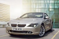 USED 2006 06 BMW 6 SERIES 4.8 650I SMG 2d AUTO 363 BHP STUNNING EXAMPLE WITH FSH