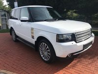 2012 LAND ROVER RANGE ROVER 4.4 TDV8 WESTMINSTER 5d AUTO 313 BHP £19990.00