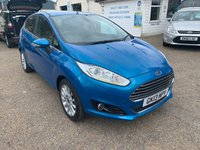 USED 2013 13 FORD FIESTA 1.6 TITANIUM X 5d AUTO 104 BHP NICE LOW MILES / AUTOMATIC