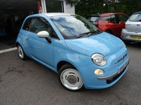 USED 2015 15 FIAT 500 1.2 VINTAGE 57 3d 69 BHP *RARE* LIMITED EDITION RETRO *RARE* Limited Edition Vintage 57 model finished in Azzurro Blue! Low Mileage, Full Service History, Just Serviced by ourselves, One Lady Owner from new, Minimum 8 months MOT, Very fuel efficient! Only £30 Road Tax!